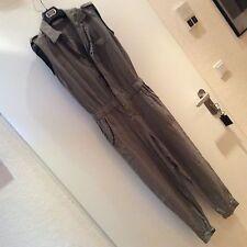 Zara TUTA CARGO sexy jumpsuid Cachi tendenza Pantaloni vestito S 36-38 blogger W. NUOVO