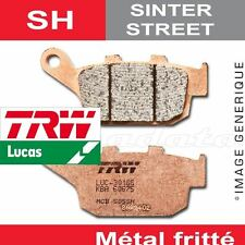 Plaquettes de frein Arrière TRW Lucas MCB 512 SH pour Honda CX 650 E (RC12) 83-