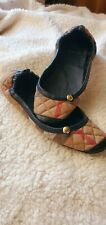 Burberry Slippers/Ballet Slippers Size 6