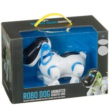 Brand New LEDs multi-sound functions Dexter the Robo Dog little one to enjoy.
