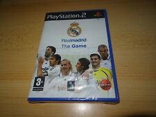 REAL MADRID - THE GAME PS2 PLAYSTATION 2 NUEVO PRECINTADO VERSIÓN PAL