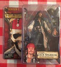 NEW Pirates of the Caribbean JACK SPARROW Series 2 Black Pearl Neca/Disney NIP