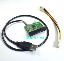 "34pin 1.44MB 3.5"" Floppy Drive Connector to USB Cable Adapter 34P Driver Board"