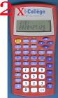 2x Texas Instruments TI-College école Bureau Calculatrice Ordinateur Fr