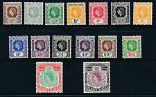 Leeward Islands 1954 SG 126-40 MM