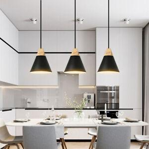 3X Modern Pendant Light Black Ceiling Lamp Home Lights Bar Chandelier Lighting