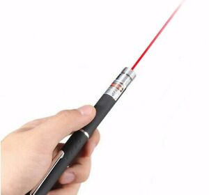 Upgraded AAA Red Laser Pointer Pen Visible Beam Teaching Lazer Dog Cat Pet Toys