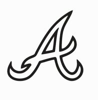 Atlanta Braves MLB Baseball Vinyl Die Cut Car Decal Sticker - FREE SHIPPING