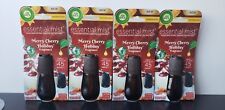 Air Wick Essential Oils Diffuser Mist Refill, Merry Cherry Holiday, 4 Count