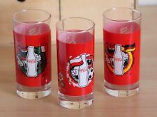 COCA COLA POLONIA ITALIA GERMANIA 3 BICCHIERI GLASSES UEFA - EURO 2012