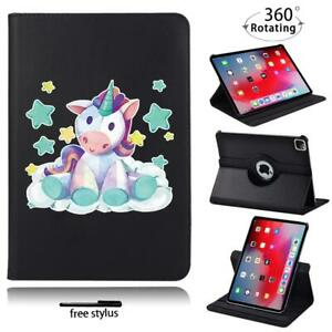 360°Rotating Leather Stand Case Cover For Apple iPad Air / Air 2 /Air 3 / 4 +pen