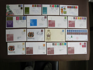 GB - 38 Definitive FDCs from period 1967 to 2000