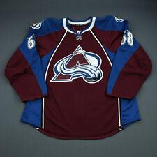 2009-10 Samuel Finn Colorado Avalanche Game Issued Reebok Hockey Jersey NHL