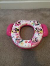 Potty Seat Minnie Mouse Disney Bowtique Soft Potty Seat Home Solutions