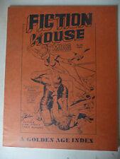 FICTION COMICS N.54 - A GOLDEN AGE INDEX 1978 FICTION HOUSE MAGAZINE  - A6