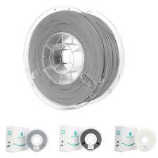 More details for polylite polymaker 1.75mm pla 750g/roll 3d printer filament black white grey