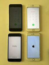 Lot of 4 IPHONES 6plus 6s+  working For Parts  Read Description! 6plus repair