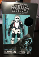 """Hasbro Star Wars The Black Series  Scout Trooper 6"""" Action  Figure"""