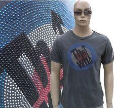 Amplified The Who Estrás 70'er Mods Star Vintage Lavado A Piedra agujeros
