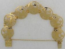 Newfoundland Jewelry Gold  Bracelet by Touchstone