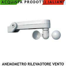 Sensore di Vento Forte Anemometro Tende da Sole Tapparelle Allarme Vento Forte