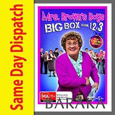 MRS BROWNS BOYS Brown's Big Box Series 1 2 3 Christmas Special R4 DVD Box Set