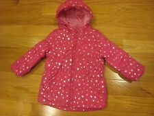 Children's Place girls star puffer coat pink size 18/24 M fall spring dressy .