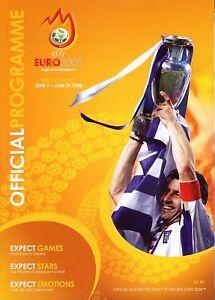 EURO 2008 - Official Tournament Brochure - English Language edition
