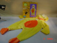 New NWT Halloween Costume Toddler Duck Unused