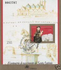 1995 Sant'Antonio - Portogallo - foglietto annullato