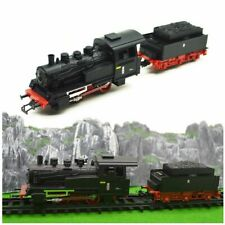 HO Scale 1:87 Steam Train Model DIY Classic Electric Trains Rail Alloy + Plastic