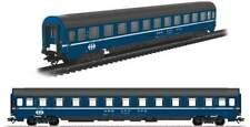 Marklin HO 43610 Eurofima Sleeper SBB/CFF/FFS Era IV  blue/black