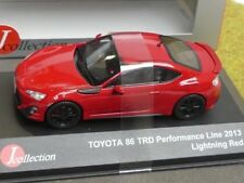 1/43 J-Collection toyota 86 TRD performance line 2013 rojo jc299