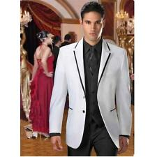 Tailored Men's Wedding Suits Groom Tuxedos Bridal Tailcoats Evening Party Suits