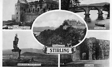 Multiviews of Stirling, Stirlingshire Inc Bruce Statue, The Auld Brig 1966 (LA)