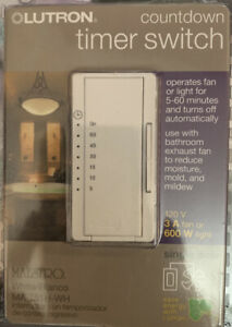 Lutron MA-T51H-WH Maestro Countdown Timer (dimmer)