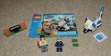 LEGO City Crook Pursuit Set 60106, Complete with Minifigures Stickers Manual
