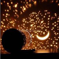 Kids Bedroom Starry Night Sky Projector Lamp Star Master LED Night Light Gift