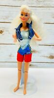 "MATTEL BARBIE Blonde Hair Blue Eyes Articulated Knees Three Piece Outfit 12""Tall"