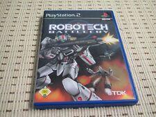 Robotech Battlecry für Playstation 2 PS2 PS 2 *OVP*