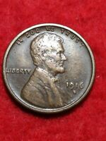 1916 S XF+ San Francisco Mint Lincoln Wheat Cent#14