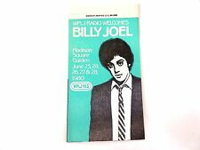 """Billy Joel"" Wplj 95.5 Concert Sticker 1980 Mint/ How Cool Is This!"