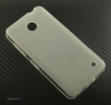 NEW CLEAR FROST RUBBERIZED TPU CANDY SKIN CASE COVER FOR NOKIA LUMIA 630 635