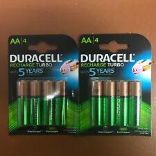 8 x Duracell AA 2500 mAh Rechargeable ULTRA Batteries  NiMH HR6 NEW Duralock