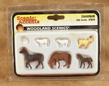 Woodland Scenics Accents LIVESTOCK #A1844 HO Scale  NOS   S09