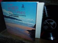 DEBUSSY: La Mer + Nocturnes > Strasbourg Lombard / Erato France stereo LP NM