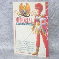 Ys Memorial Game Guide Art Material Fan Book 1999 KB
