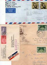 Upu - Lot of 4 interesting postal pieces