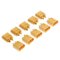 20pcs Xt60 High Quality Male/ Female Bullet Connectors Plugs For Rc Battery Part