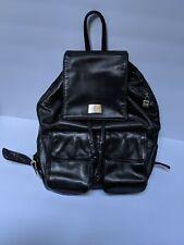 PERLINA NY Genuine Fine Leather Backpack Butter Leather Shoulder Handbag